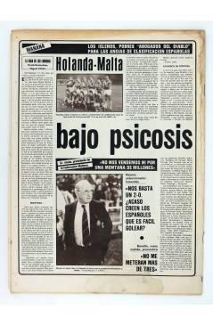 Contracubierta de AS DIARIO DEPORTIVO 5038. RUMOR: STIELIKE: ADIOS AL MADRID?. 16 DIC 1983 (Vvaa) As 1983