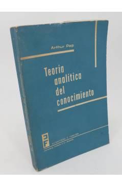 Cubierta de COLECCION ESTRUCTURA Y FUNCION 13. TEORIA ANALITICA DEL CONOCIMIENTO (Arthur Pap) Tecnos 1964
