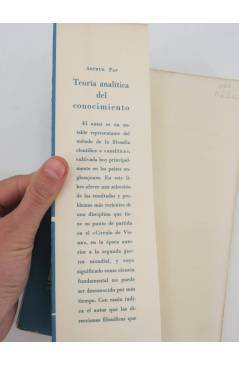 Muestra 1 de COLECCION ESTRUCTURA Y FUNCION 13. TEORIA ANALITICA DEL CONOCIMIENTO (Arthur Pap) Tecnos 1964