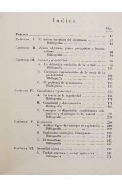 Muestra 3 de COLECCION ESTRUCTURA Y FUNCION 13. TEORIA ANALITICA DEL CONOCIMIENTO (Arthur Pap) Tecnos 1964