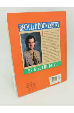 Contracubierta de RECYCLED DOONESBURY. SECOND THOUGHTS ON A GILDED AGE TPB (G.B. Trudeau) Andrews and McMeel 1990