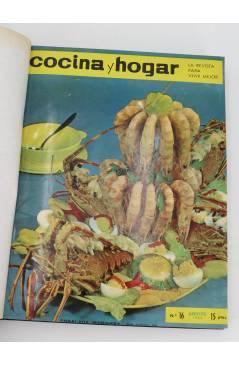 Muestra 1 de REVISTA COCINA Y HOGAR 16 A 30. ENCUADERNADAS EN UN TOMO. AGO 1964 – OCT 1965 (Vvaa) Cocina y Hogar 1965