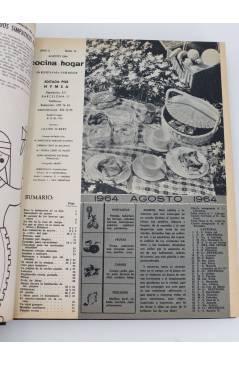 Muestra 2 de REVISTA COCINA Y HOGAR 16 A 30. ENCUADERNADAS EN UN TOMO. AGO 1964 – OCT 1965 (Vvaa) Cocina y Hogar 1965