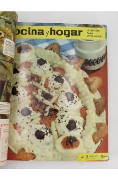 Muestra 3 de REVISTA COCINA Y HOGAR 16 A 30. ENCUADERNADAS EN UN TOMO. AGO 1964 – OCT 1965 (Vvaa) Cocina y Hogar 1965