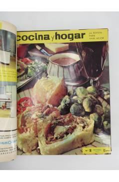 Muestra 4 de REVISTA COCINA Y HOGAR 16 A 30. ENCUADERNADAS EN UN TOMO. AGO 1964 – OCT 1965 (Vvaa) Cocina y Hogar 1965