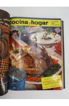 Muestra 6 de REVISTA COCINA Y HOGAR 16 A 30. ENCUADERNADAS EN UN TOMO. AGO 1964 – OCT 1965 (Vvaa) Cocina y Hogar 1965