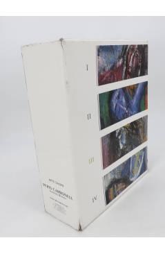 Contracubierta de PERIS CARBONELL: ARTE SACRO. 4 TOMOS EN ESTUCHE. MBE (Jeronimo Beltran) Autoedición 2002