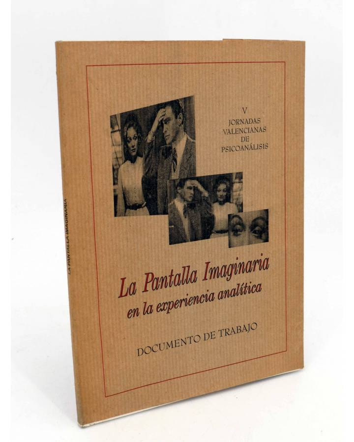 Cubierta de LA PANTALLA IMAGINARIA EN LA EXPERIENCIA ANALITICA. V JORNADAS (Vvaa) No acreditada 1997
