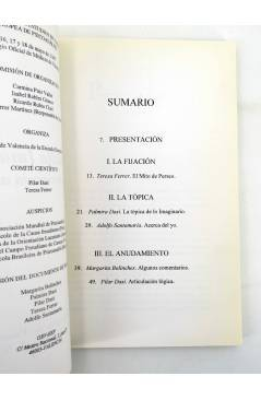 Muestra 1 de LA PANTALLA IMAGINARIA EN LA EXPERIENCIA ANALITICA. V JORNADAS (Vvaa) No acreditada 1997