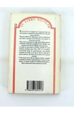 Contracubierta de EL LIBRO AGUILAR 89. EL REY LEAR / SUEÑO DE UNA NOCHE DE VERANO (William Shakespeare) Aguilar 1990