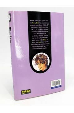 Contracubierta de FAKE 1 a 7. COLECCIÓN COMPLETA (Sanami Matoh) Norma 2005