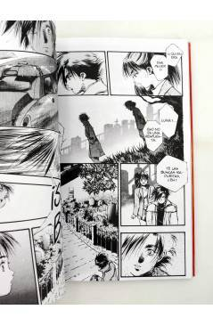 Contracubierta de MANGA GRAN VOLUMEN 24. MACROSS 7 TRASH 1 (Haruhiko Mikimoto) Norma 1998