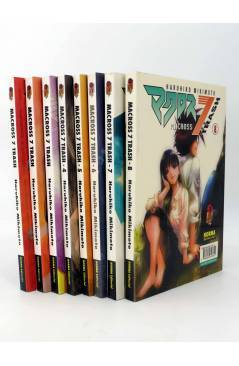 Cubierta de MANGA GRAN VOLUMEN MACROSS 7 TRASH 1 a 8. COLECCIÓN COMPLETA (Haruhiko Mikimoto) Norma 1998