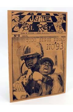 Cubierta de FANZINE JAKE AL REY 5. TODO SIGUE IGUAL (Vvaa) No acreditada 1993