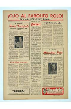 Contracubierta de MASCLETA BOMBARDERO SEMANAL GRÁFICO LITERARIO 9. 12 Julio 1952 (Vvaa) Guerri 1952