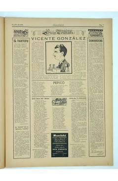 Muestra 1 de MASCLETA BOMBARDERO SEMANAL GRÁFICO LITERARIO 9. 12 Julio 1952 (Vvaa) Guerri 1952