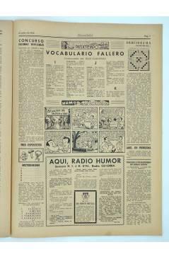 Muestra 2 de MASCLETA BOMBARDERO SEMANAL GRÁFICO LITERARIO 9. 12 Julio 1952 (Vvaa) Guerri 1952