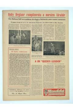 Contracubierta de MASCLETA BOMBARDERO SEMANAL GRÁFICO LITERARIO 12. 2 Agosto 1952 (Vvaa) Guerri 1952