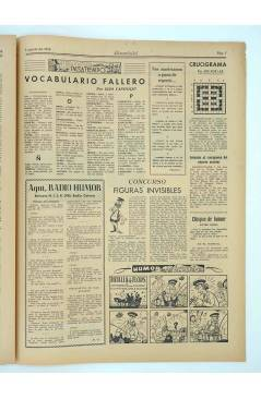 Muestra 3 de MASCLETA BOMBARDERO SEMANAL GRÁFICO LITERARIO 12. 2 Agosto 1952 (Vvaa) Guerri 1952