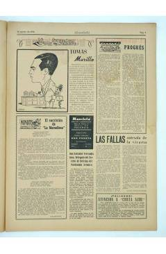 Muestra 1 de MASCLETA BOMBARDERO SEMANAL GRÁFICO LITERARIO 14. 16 Ago 1952 (Vvaa) Guerri 1952
