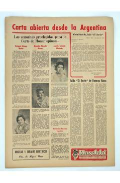 Contracubierta de MASCLETA BOMBARDERO SEMANAL GRÁFICO LITERARIO 15. 23 Agosto 1952 (Vvaa) Guerri 1952