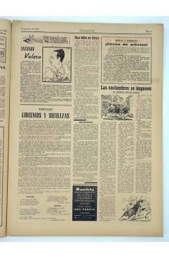Muestra 1 de MASCLETA BOMBARDERO SEMANAL GRÁFICO LITERARIO 15. 23 Agosto 1952 (Vvaa) Guerri 1952
