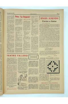Muestra 2 de MASCLETA BOMBARDERO SEMANAL GRÁFICO LITERARIO 16. 30 Agosto 1952 (Vvaa) Guerri 1952