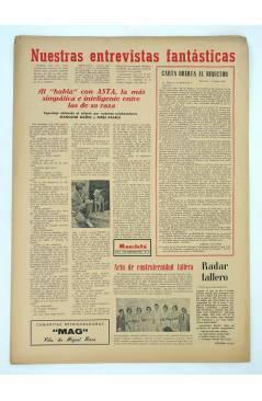 Contracubierta de MASCLETA BOMBARDERO SEMANAL GRÁFICO LITERARIO 17. 12 junio 1952 (Vvaa) Guerri 1952