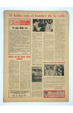Contracubierta de MASCLETA BOMBARDERO SEMANAL GRÁFICO LITERARIO 18 (Vvaa) Guerri 1952