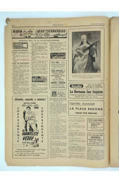 Muestra 1 de MASCLETA BOMBARDERO SEMANAL GRÁFICO LITERARIO 25. 8 Nov 1952 (Vvaa) Guerri 1952