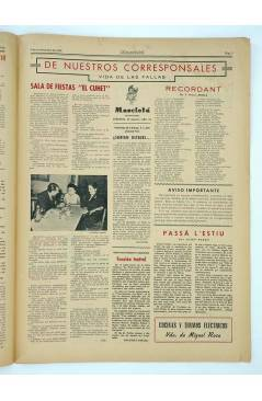 Muestra 2 de MASCLETA BOMBARDERO SEMANAL GRÁFICO LITERARIO 25. 8 Nov 1952 (Vvaa) Guerri 1952