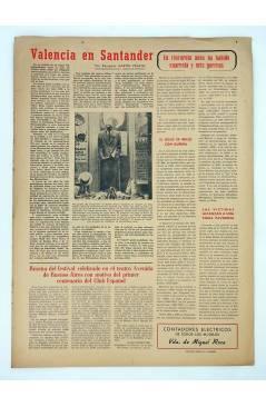 Contracubierta de MASCLETA BOMBARDERO SEMANAL GRÁFICO LITERARIO 28. 29 Nov 1952 (Vvaa) Guerri 1952