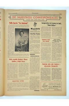 Muestra 1 de MASCLETA BOMBARDERO SEMANAL GRÁFICO LITERARIO 28. 29 Nov 1952 (Vvaa) Guerri 1952