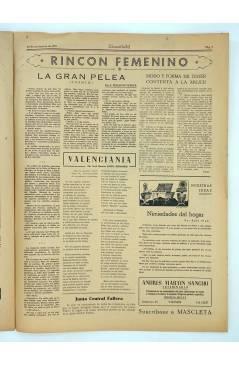 Muestra 2 de MASCLETA BOMBARDERO SEMANAL GRÁFICO LITERARIO 28. 29 Nov 1952 (Vvaa) Guerri 1952