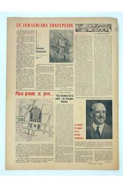 Contracubierta de MASCLETA BOMBARDERO SEMANAL GRÁFICO LITERARIO 29. 6 Dic 1952 (Vvaa) Guerri 1952
