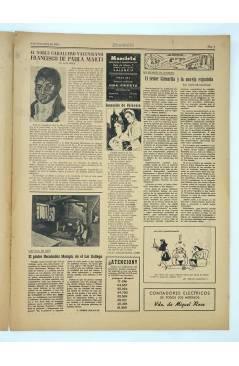 Muestra 1 de MASCLETA BOMBARDERO SEMANAL GRÁFICO LITERARIO 29. 6 Dic 1952 (Vvaa) Guerri 1952