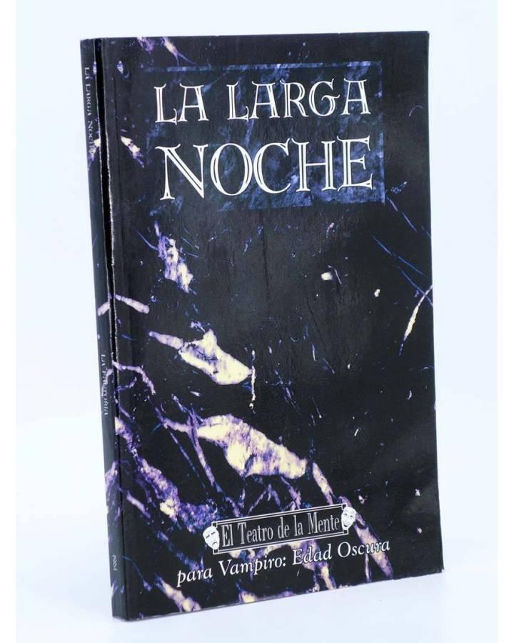 Cubierta de EL TEATRO DE LA MENTE LA LARGA NOCHE. PARA VAMPIRO: EDAD OSCURA (Vvaa) La Factoría de Ideas 2001