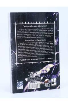 Contracubierta de EL TEATRO DE LA MENTE LA LARGA NOCHE. PARA VAMPIRO: EDAD OSCURA (Vvaa) La Factoría de Ideas 2001