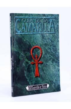 Cubierta de EL TEATRO DE LA MENTE GUIA DE LA CAMARILLA. VAMPIRO LA MASCARADA (Vv. Aa.) La Factoría de Ideas 2003