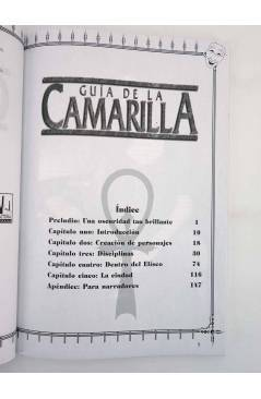 Muestra 2 de EL TEATRO DE LA MENTE GUIA DE LA CAMARILLA. VAMPIRO LA MASCARADA (Vv. Aa.) La Factoría de Ideas 2003