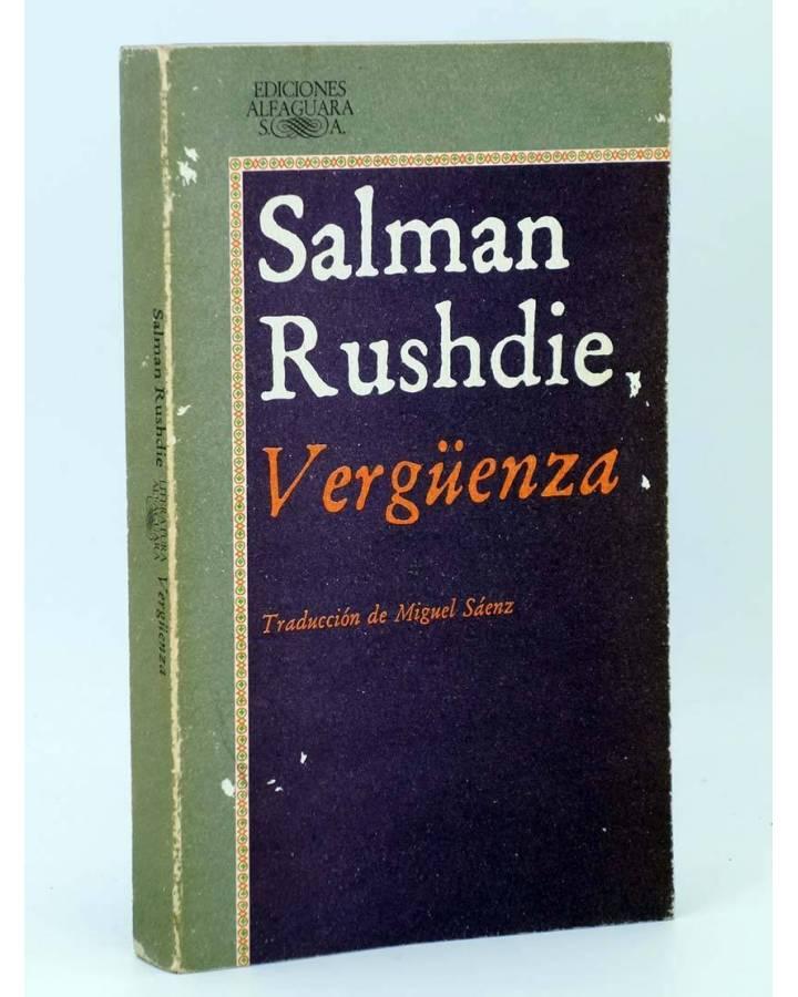 Cubierta de VERGÜENZA (Salman Rushdie) Alfaguara 1985