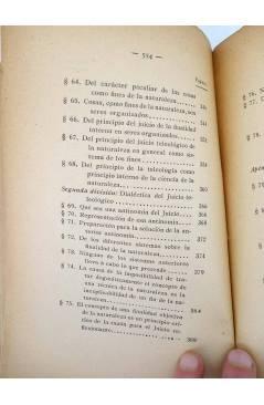 Muestra 1 de CRÍTICA DEL JUICIO (Manuel Kant) Victoriano Suárez 1914
