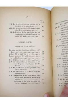 Muestra 7 de CRÍTICA DEL JUICIO (Manuel Kant) Victoriano Suárez 1914