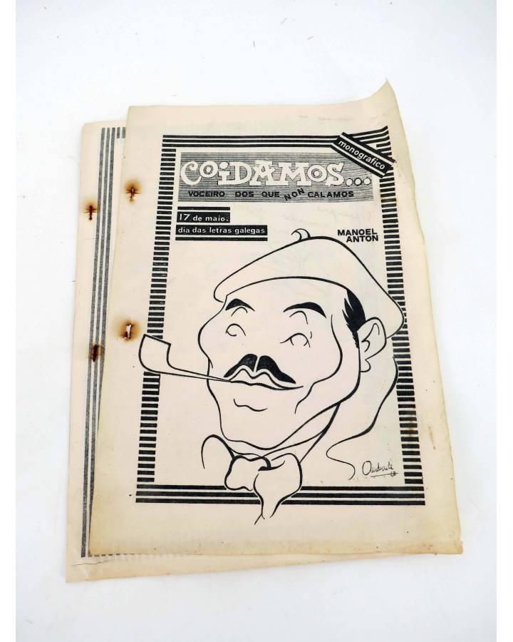 Cubierta de FANZINE COIDAMOS 9. VOCEIRO DOS QUE NOS CALAMOS (Vvaa) Intituto Francisco Aguiar 1977