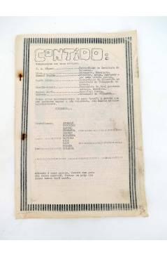 Contracubierta de FANZINE COIDAMOS 9. VOCEIRO DOS QUE NOS CALAMOS (Vvaa) Intituto Francisco Aguiar 1977