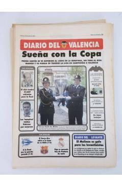 Contracubierta de DIARIO DEL VALENCIA C.F. 24 NÚMEROS. SUPLEMENTO DEL DIARIO DE VALENCIA. FEBRERO 2001. Sueltos 3€ (Vvaa