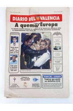 Muestra 1 de DIARIO DEL VALENCIA C.F. MARZO 2001 COMPLETO. 31 NºS. SUPLEMENTO DEL DIARIO DE VALENCIA (Vvaa) Valencia C.