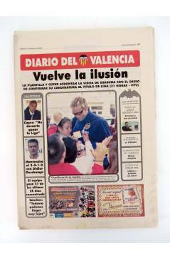 Muestra 2 de DIARIO DEL VALENCIA C.F. MARZO 2001 COMPLETO. 31 NºS. SUPLEMENTO DEL DIARIO DE VALENCIA (Vvaa) Valencia C.