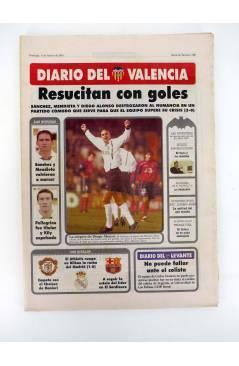 Muestra 1 de DIARIO DEL VALENCIA C.F. ABRIL 2001. 28 DE 30 NºS. SUPLEMENTO DEL DIARIO DE VALENCIA (Vvaa) Valencia C. de
