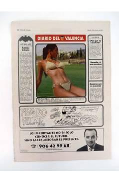 Muestra 4 de DIARIO DEL VALENCIA C.F. ABRIL 2001. 28 DE 30 NºS. SUPLEMENTO DEL DIARIO DE VALENCIA (Vvaa) Valencia C. de